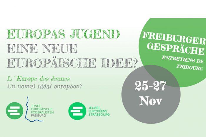 Europas Jugend – Eine Neue Europäische Idee? | 25.-27.11.16