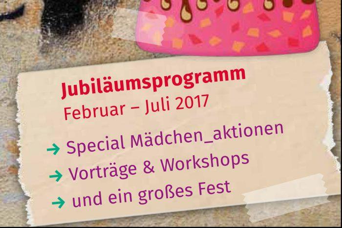 Jubiläumsprogramm Der Tritta E.V.: Februar – Juli 2017