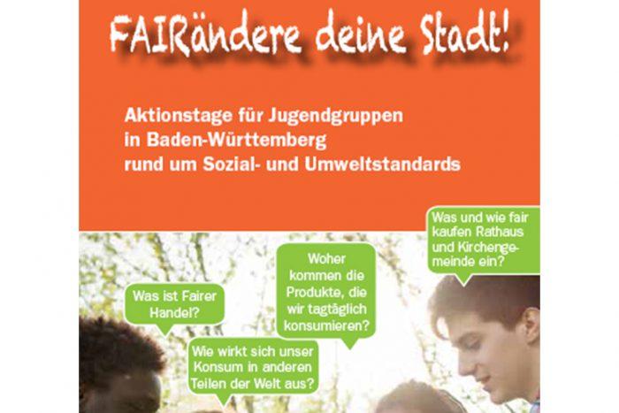 """Aktionstage: """"FAIRändere Deine Stadt!"""""""