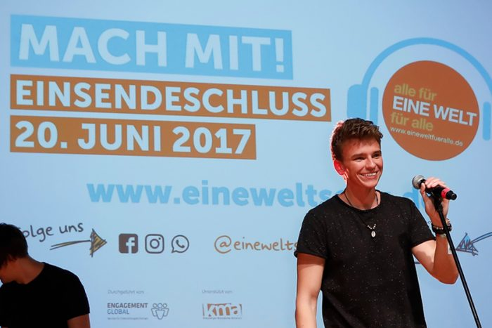 """Song Contest: """"Dein Song Für EINE WELT!"""""""