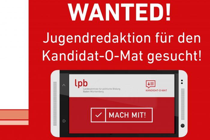 WANTED! Jugendredaktion Für Den Kandidat-O-Mat Gesucht