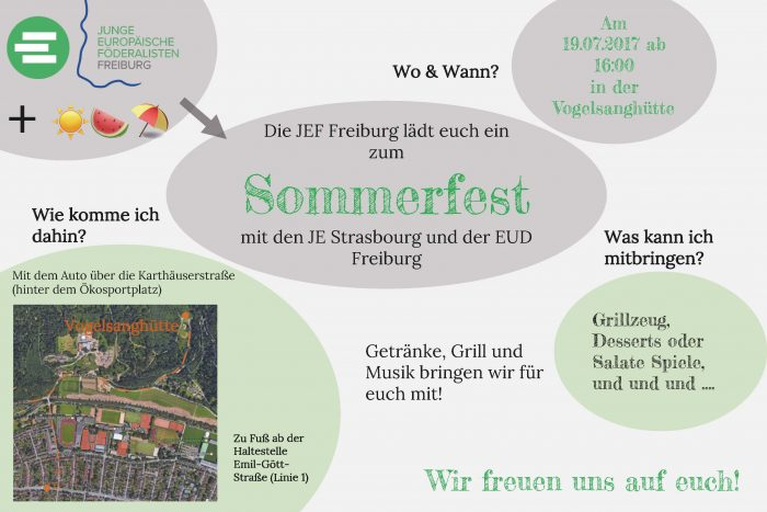 JEF Freiburg: Sommerfest | 19.07.2017