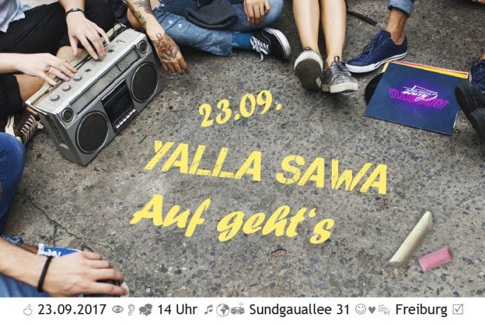 Yalla Sawa – Begegnungstag   23.09.17