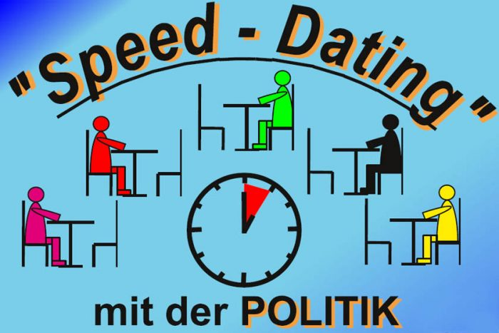 Speed-Dating Mit Der Politik | 15.09.17