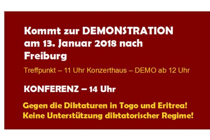 Demo: 50 Jahre Diktatur In Togo Sind Genug! 13.01.2018