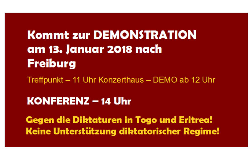 Demo Aktion Bleiberecht