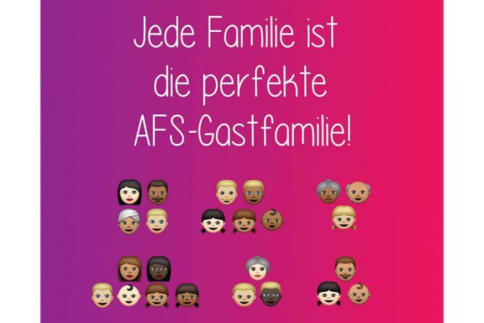 AFS: Gastfamilien Gesucht!