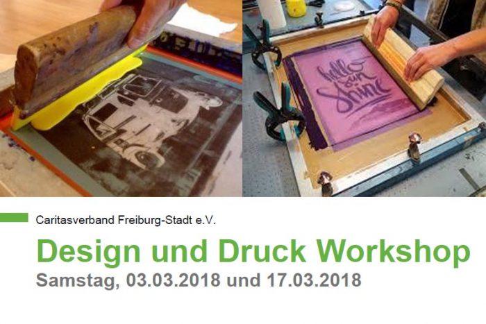 Design Und Druck Workshop 03. & 17.03.2018