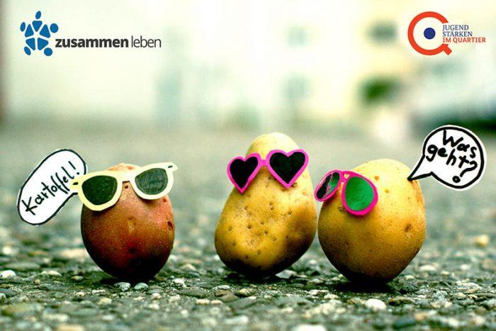 Zusammen Kartoffeln