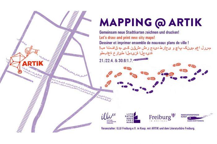 MAPPING @ ARTIK | 21./22.04. Und 30.06./01.07