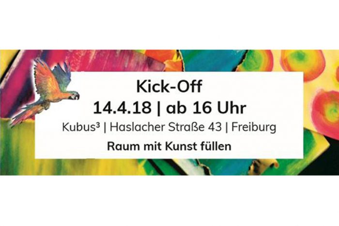 JugendKunstParkour 2018 | Kick-Off 14. April 2018