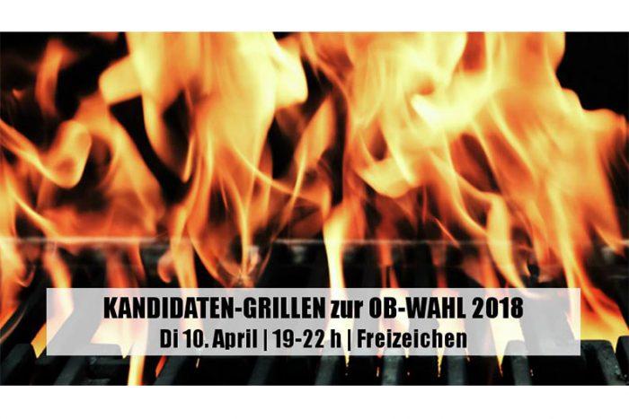 Kandidaten-Grillen Zur OB-Wahl Freiburg   10. April 2018
