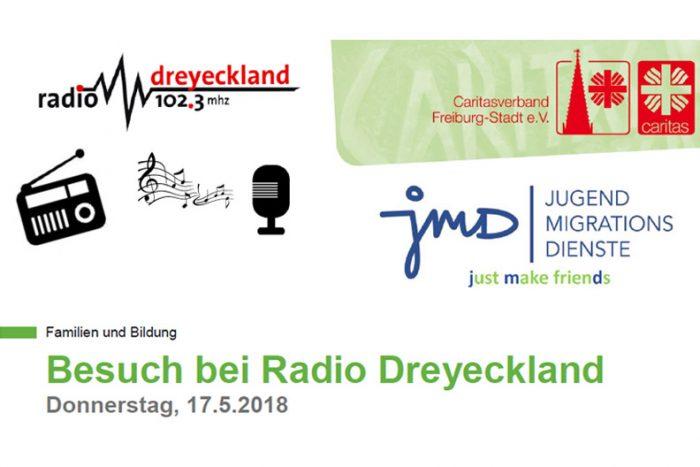 JMD: Besuch Bei Radio Dreyeckland | 17. Mai