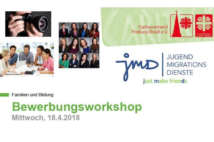JMD: Bewerbungsworkshop | 18. April 2018