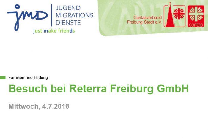 Just Make Friends: Besuch Bei Reterra Freiburg | 4.7.2018