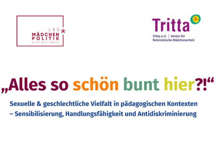 Fortbildung: Sexuelle & Geschlechtliche Vielfalt In Pädagogischen Kontexten | 08./09. Oktober
