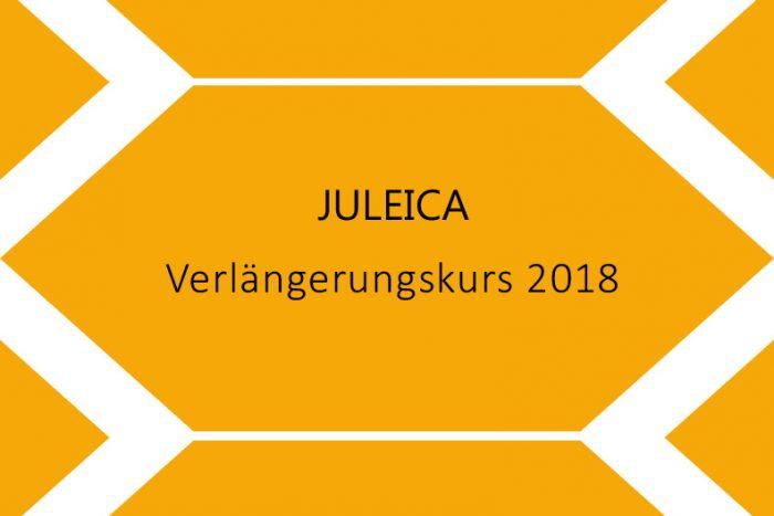 Juleica Verlängerung   Samstag, 29. September 2018