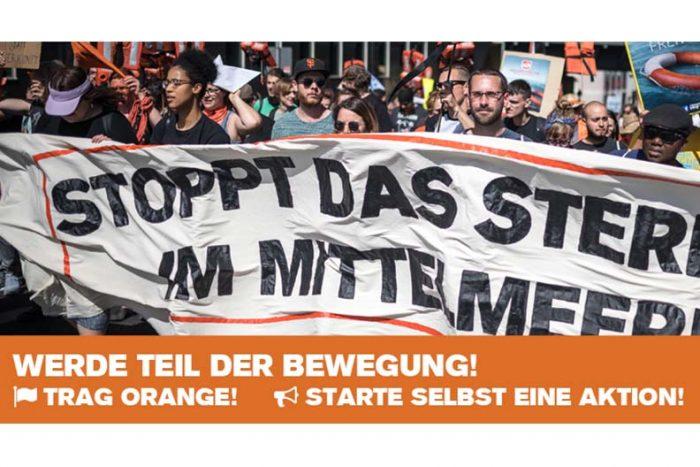 Seebrücke Freiburg: Demonstration Am 22.9.2018