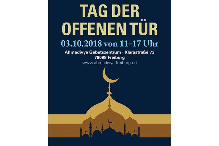 Tag Der Offenen Tür:  Moschee – Ein Ort Des Friedens