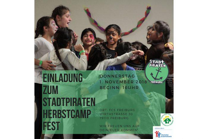 Stadtpiraten: Herbstcamp-Fest | 01.11.2018