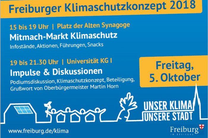 Mitmach-Markt Klimaschutz | 5.10.2018
