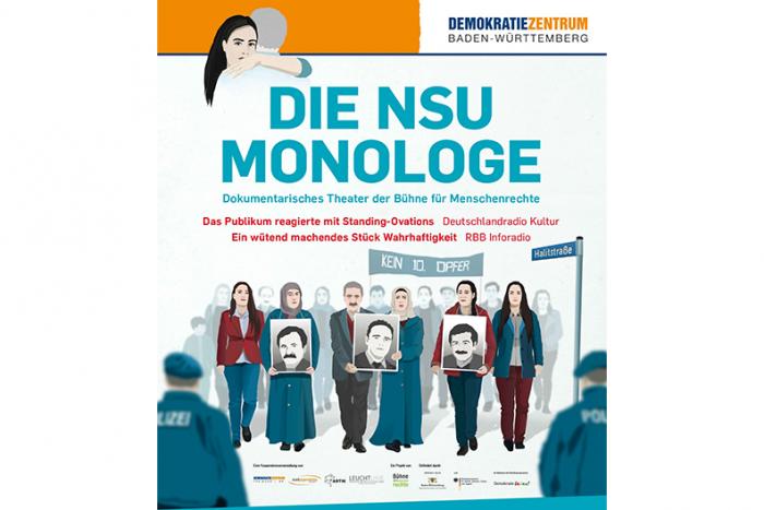Die NSU-Monologe. Dokumentarisches Theater | 27.11.2018