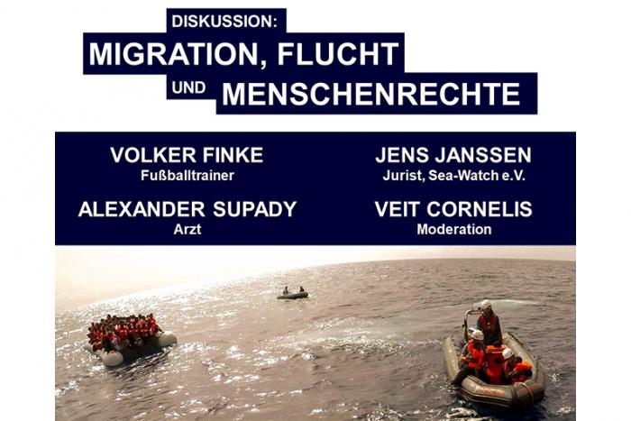 Diskussion: MIGRATION, FLUCHT UND MENSCHENRECHTE | 22.10.2018