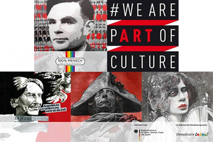 Vernissage WE ARE PART OF CULTURE   16.10.2018