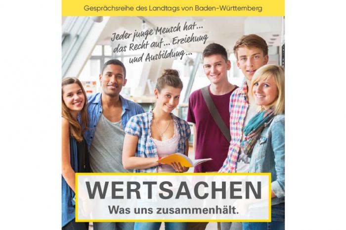 """Gesprächsreihe """"WERTSACHEN. Was Uns Zusammenhält""""    17.10.2018"""