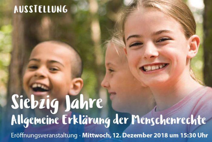 Eröffnungsveranstaltung: Siebzig Jahre Allgemeine Erklärung Der Menschenrechte | 12.12.2018