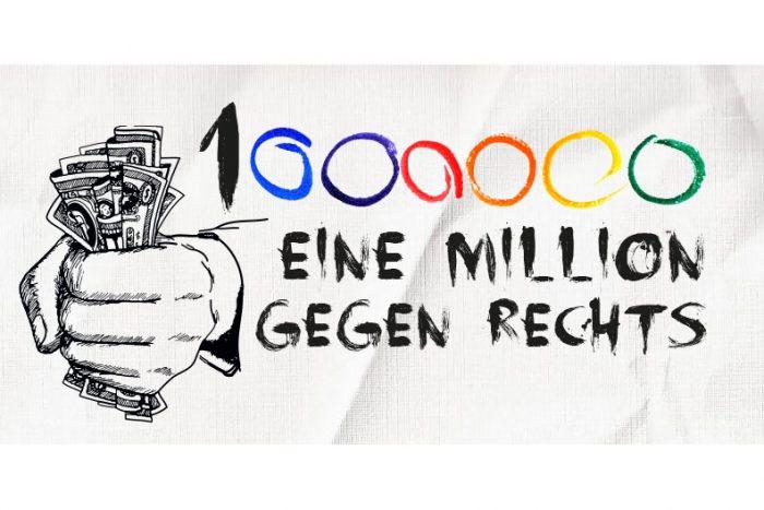 Konzert: Eine Million Gegen Rechts! 16.01.2019 Im E-Werk
