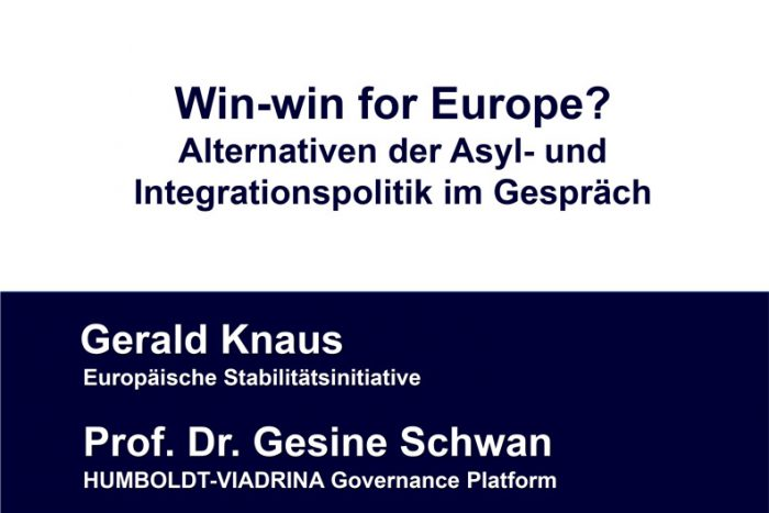 Diskussion: Win-win For Europe? | 12.02.2019