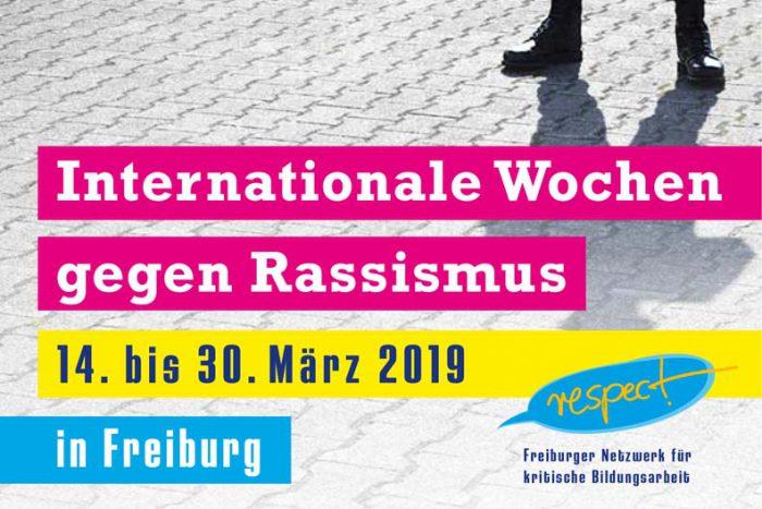 Internationale Wochen Gegen Rassismus | 14.-30. März 2019
