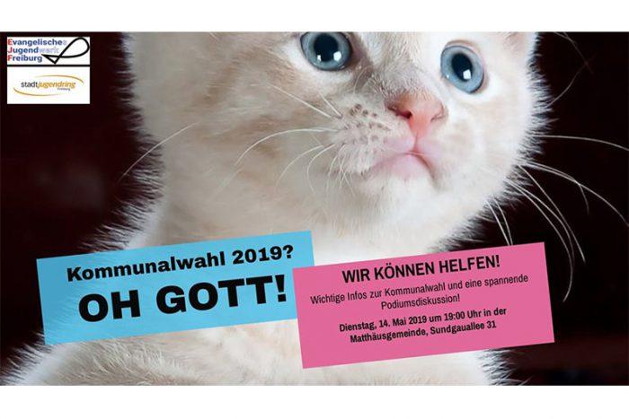 Kommunalwahl 2019? OH GOTT! – Infoveranstaltung & Podiumsdiskussion | 14. Mai 2019