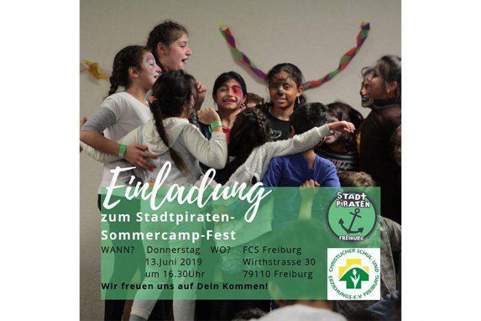 STADTPIRATEN Freiburg: Sommercamp-Abschlussfest | 13. Juni 2019