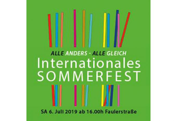 Internationales Sommerfest | 06. Juli 2019