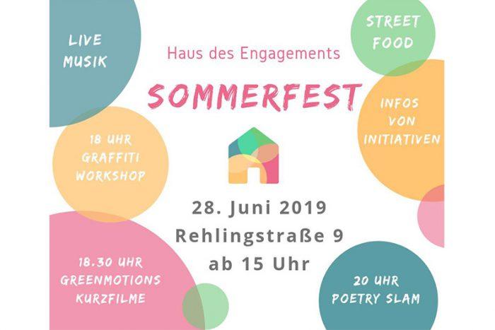 Sommerfest Haus Des Engagements | 28. Juni 2019