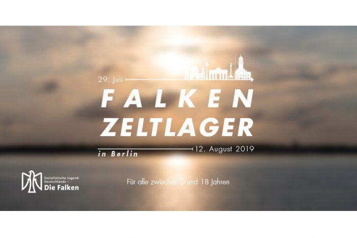 Falkenzeltlager In Berlin | 29. Juli – 12. August 2019