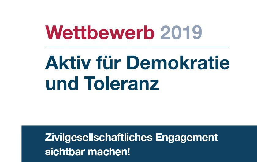 Wettbewerb Aktiv Für Demokratie Und Toleranz 2019 Web