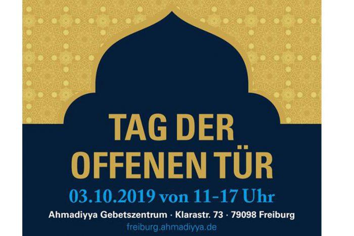 Tag Der Offenen Tür Moschee Freiburg