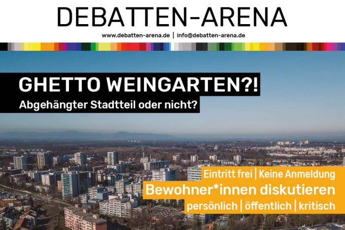 Debatten Arena Ghetto Weingarten Web