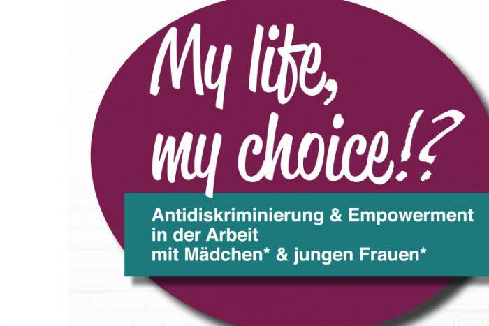 Programmflyer Tagung Mädchen Arbeit 28.+29.11.2019 Freiburg Web