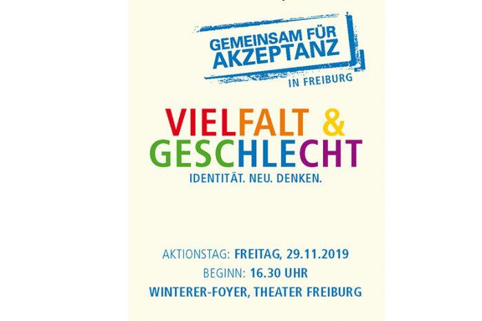 Aktionstag Gemeinsam Für Akzeptanz In Freiburg | 29.11.2019