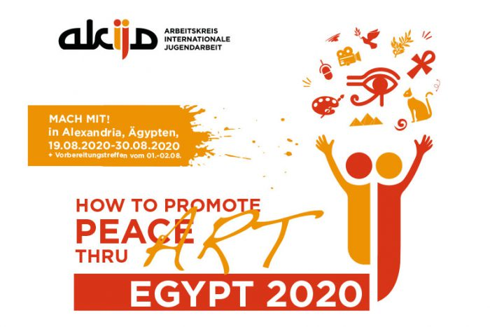 HOW TO PROMOTE PEACE THRU ART | EGYPT 2020