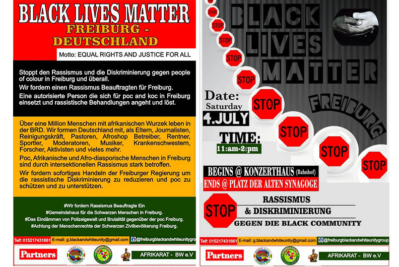 Black Lives Matter Freiburg