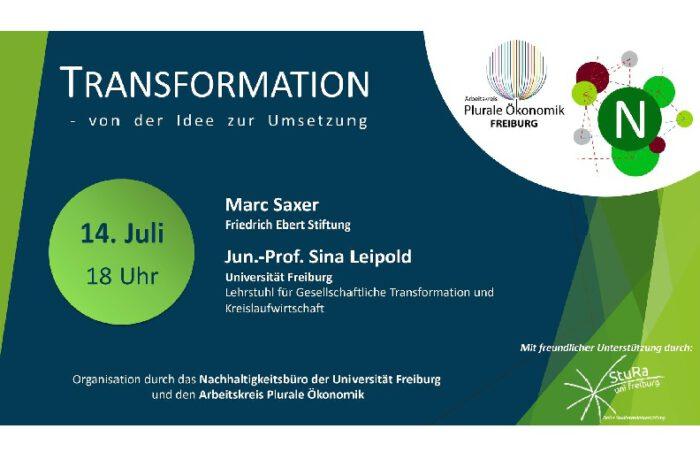 Online Veranstaltung: Transformation – Von Der Idee Zur Umsetzung | 14.07.2020